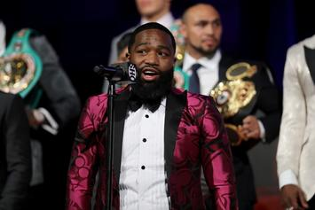 """Adrien Broner Banned From Uber For """"Sicko Mode-Related"""" Spazz Out"""
