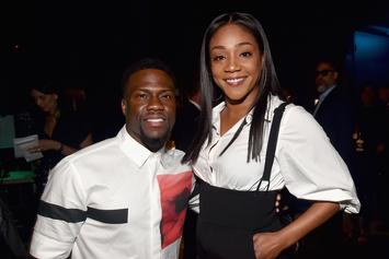"Kevin Hart & Tiffany Haddish Answer Booty Eating & Math Questions On ""Truth Or Dab"""