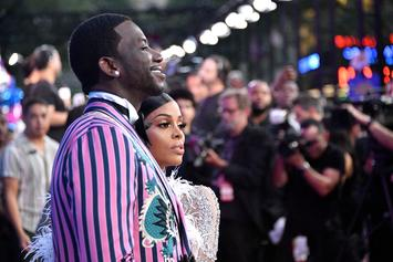 Gucci Mane's Wife Keyshia Ka'Oir Wears See-Through Catsuit During Night Out