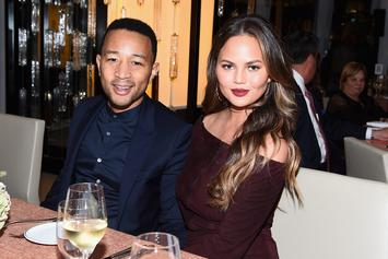 "Chrissy Teigen Says John Legend Is ""Totally Turned On"" Even When She Feels  ""Filthy"""