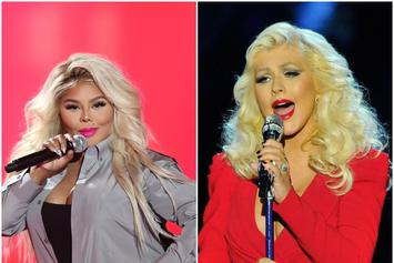 Lil' Kim Joins Christina Aguilera In Surprise Concert Performance