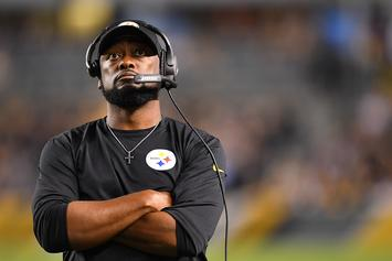"Steelers Head Coach Mike Tomlin Calls NFL Penalties A Joke: ""I'm Pissed"""