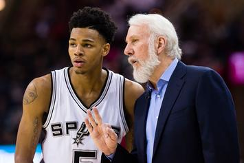 Spurs' Dejounte Murray Suffers Torn ACL: Report