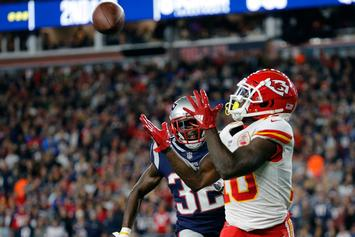 Chiefs vs Patriots: Fans Throw Beer In Tyreek Hill's Face After Late TD