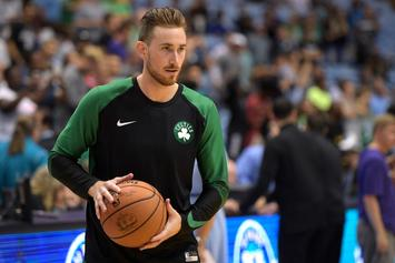 Celtics' Gordon Hayward Announces Sneaker Deal With Anta
