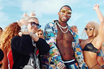 "Gucci Mane Celebrates 10/17 With New Party-Filled Video For ""Kept Back"" With Lil Pump"