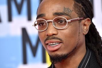 Quavo Records New Song For LeBron James' First Lakers Home Game