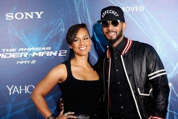 Alicia Keys Surprises Swizz Beatz With 2019 Aston Martin For His 40th Birthday