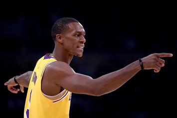 """Lakers Reviewed Tape, Will Back Rajon Rondo's Testimony """"He Didn't Spit"""""""