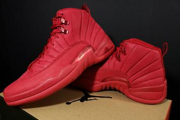 "Air Jordan 12 ""Chicago Bulls"" To Release In November: New Images"