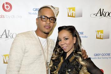 """Tiny Confronts T.I. About His Alleged Infidelity On """"Friends And Family Hustle"""""""