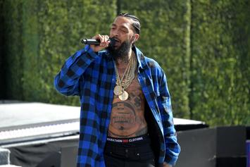 Nipsey Hussle Says He Wasn't About To Jump In Lakers/Rockets Brawl