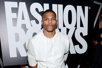 Russell Westbrook Roasted By Twitter For Modeling In Bizarre Fashion Editorial