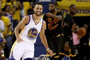 Stephen Curry Posts Dance Video Featuring An Epic Remix Of Fergie's National Anthem