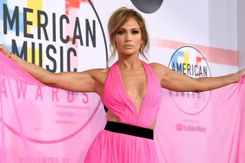 Jennifer Lopez Is A Curvaceous Goddess As She Flaunts Body In Revealing Dress