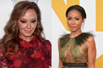 """Jada Pinkett Confronts Scientology Fallout With Leah Remini On """"Red Table Talk"""""""