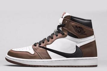 Travis Scott x Air Jordan 1 Releasing In 2019: New Image