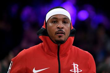 "Houston Rockets & Carmelo Anthony In ""Crisis"" Talks Over His Role With Team"