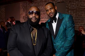 "LeBron James' ""Groupie Luv"" Fuels Rick Ross To Complete ""Port of Miami 2"""
