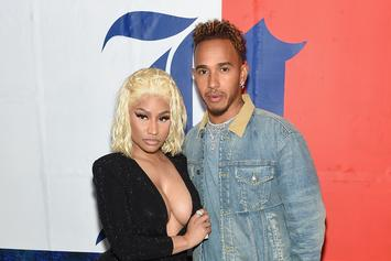 Nicki Minaj & Lewis Hamilton Dating Rumors Resurface After Gushy IG Posts