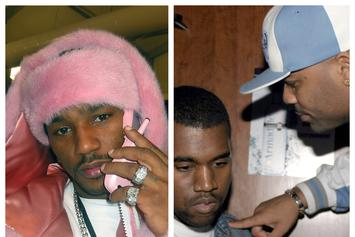 "Cam'ron Dedicates 1st Verse On ""Diplomatic Ties"" To Dissing Kanye West"
