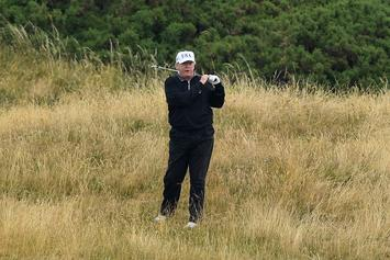 """Donald Trump's """"Tremendous Impact"""" Thanksgiving At A Golf Course"""