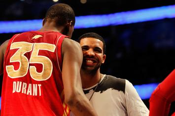 Kevin Durant Sings Unreleased Drake Songs On Instagram