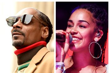 """Snoop Dogg Gets """"VIP Treatment"""" At The Jorja Smith Show"""