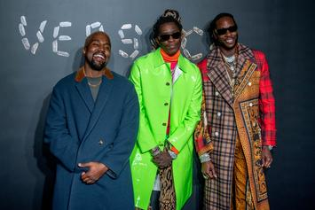Kanye West, 21 Savage, Young Thug & More Hit Versace Fashion Show