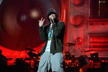 """Eminem Earns Grammy Nom For Song Where He Says He """"Sold His Soul"""" For Grammys"""