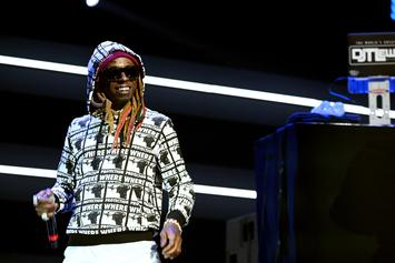 "Lil Wayne Performs ""Don't Cry"" On The Late Show With Stephen Colbert"