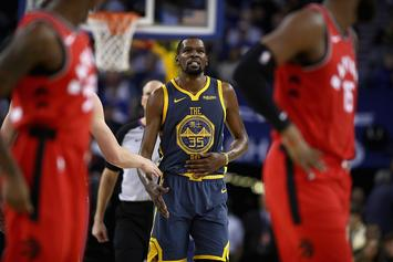 "Raptors Vs Warriors: KD Says Raps Aren't Up-And-Coming Team, ""They're Here"""