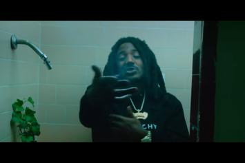 "Mozzy Is ""Black Hearted"" In New Visuals"