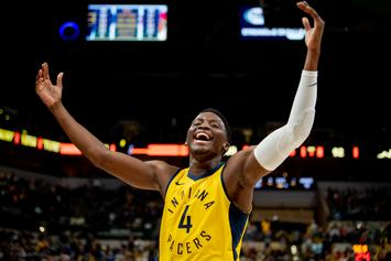 """Victor Oladipo Gave His """"Most Improved Player"""" Prize To A Domestic Abuse Survivor"""