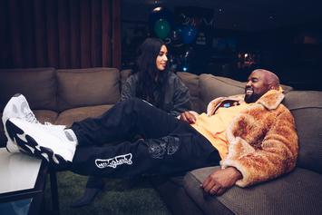Kanye West & Kim Kardashian Hosted The Ultimate Holiday Party & Everyone Was Invited