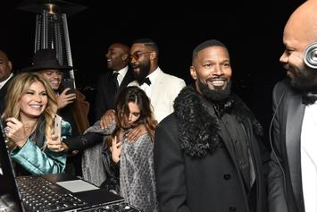 Jamie Foxx Is The Life Of The Party At Weekend Holiday Bash