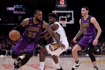 "Lonzo Ball On Playing With LeBron James: ""It Takes Pressure Off Of Me"""