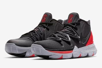 "The Nike Kyrie 5 Gets A Clean ""Bred"" Colorway"