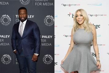 "50 Cent Shares Wendy Williams' ""Before & After Make-Up"" Photos"