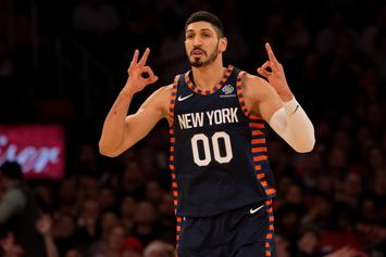 Enes Kanter Had No Clue He Was Ejected After Tussle With Giannis Antetokounmpo