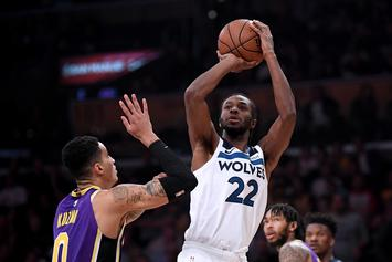 "Andrew Wiggins Reacts To Booing: ""We've Got Some Sh*tty Fans"""