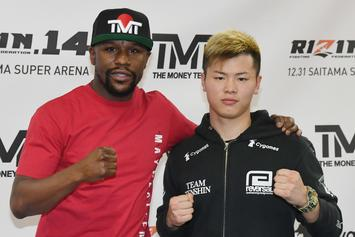 Floyd Mayweather Knocked Out Tenshin Nasukawa In First Round Of Exhibition Fight