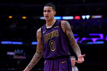 """Kyle Kuzma Says """"We Are Not Just One Player"""" After Lakers Win"""