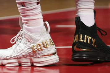 """LeBron 16 To Get """"Equality"""" Version"""