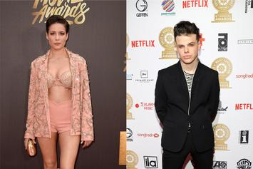 Halsey Moves On From G-Eazy With British Rocker Yungblud