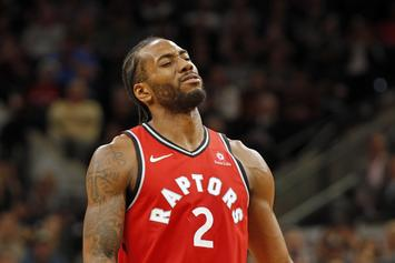 Kawhi Leonard Booed By Spurs Fans In Return To San Antonio