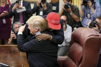 "Donald Trump ""Cable Jumps"" His Bromance With Kanye West"