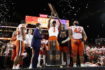Clemson Destroys Alabama In College National Championship Blowout