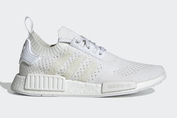 """Adidas NMD R1 """"Triple White"""" With UltraBoost 1.0 Knit Release Details"""