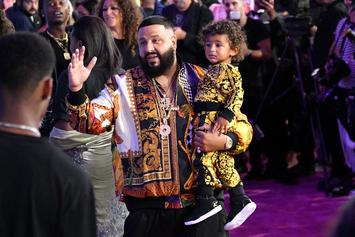 DJ Khaled Teaches Asahd Importance Of Fitness By Including Him In Workouts